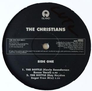 "Christians (The) - The Bottle (12"") (VG/NM)"